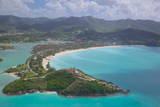 View over Jolly Harbour, Antigua, Leeward Islands, West Indies, Caribbean, Central America Photographic Print by Frank Fell