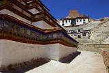 The Base of Kumbum Chorten (Stupa) in the Palcho Monastery at Gyantse, Tibet, China, Asia Photographic Print by Simon Montgomery