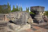 Zvartnots Cathedral, UNESCO World Heritage Site, Yerevan, Armenia, Central Asia, Asia Photographic Print by Jane Sweeney