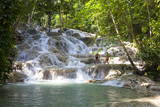 Dunns River Falls, Ocho Rios, Jamaica, West Indies, Caribbean, Central America Reproduction photographique par Doug Pearson