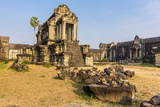 Inner Raised Terrace at Angkor Wat Photographic Print by Michael Nolan