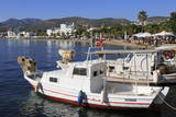 Boats in Bodrum, Anatolia, Turkey, Asia Minor, Eurasia Stampa fotografica di Cummins, Richard