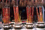Incense, Quan Am Pagoda Photographic Print by Bruno Morandi