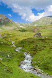 Creek, Mont Fallere, Aosta Valley, Italian Alps, Italy, Europe Photographic Print by Nico Tondini