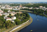 Vistula River, Krakow, Malopolska, Poland, Europe Photographic Print by Christian Kober