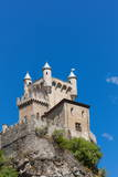 Saint-Pierre Castle, Saint Pierre, Aosta Valley, Italian Alps, Italy, Europe Photographic Print by Nico Tondini