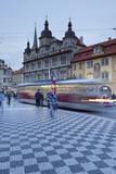 Tram, Mala Strana, Prague, Bohemia, Czech Republic, Europe Photographic Print by Markus Lange