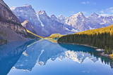 Moraine Lake Reflections in the Valley of the Ten Peaks Photographic Print by Neale Clark