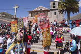 Religious Festival in Preparation for the Corpus Christi Festival, Urcos, Peru, South America Photographic Print by Peter Groenendijk