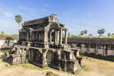 Raised Terrace at Angkor Wat Photographic Print by Michael Nolan