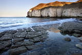 Thornwick Bay at Sunset Photographic Print by Mark Sunderland