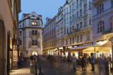 Street Scene, Prague, Czech Republic, Europe Photographic Print by Angelo Cavalli