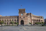 Republic Square, Yerevan, Armenia, Central Asia, Asia Photographic Print by Jane Sweeney