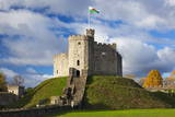 Norman Keep, Cardiff Castle, Cardiff, Wales, United Kingdom, Europe Photographic Print by Billy Stock