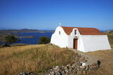 Small Church, Patmos, Dodecanese, Greek Islands, Greece, Europe Photographic Print by Tuul