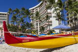 Waikiki Beach, Honolulu, Oahu, Hawaii, United States of America, Pacific Photographic Print by Rolf Richardson