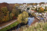 Viaduct and River Nidd at Knaresborough in Autumn Photographic Print by Mark Sunderland