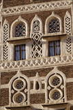 Architectural Detail, Old City of Sanaa, UNESCO World Heritage Site, Yemen, Middle East Photographic Print by Bruno Morandi