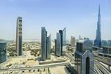 Burj Khalifa and City Skyline, Dubai, United Arab Emirates, Middle East Photographic Print by Amanda Hall
