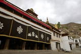 Entrance to the Assembly Hall at Sera Monastery, Lhasa, Tibet, China, Asia Photographic Print by Simon Montgomery