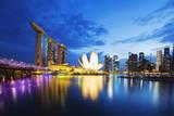 Christian Kober - Marina Bay Sands Hotel and Arts Science Museum, Singapore, Southeast Asia, Asia - Fotografik Baskı