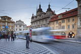 Tram, Mala Strana, Prague, Bohemia, Czech Republic, Europe Photographic Print by Markus Lange