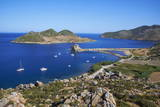 Grikos Bay, Patmos, Dodecanese, Greek Islands, Greece, Europe Photographic Print by Tuul
