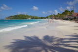 Beach, Long Bay, Antigua, Leeward Islands, West Indies, Caribbean, Central America Photographic Print by Frank Fell