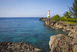 Folly Point Lighthouse, Port Antonio, Jamaica, West Indies, Caribbean, Central America Photographic Print by Doug Pearson