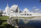 Wat Rong Khun (White Temple), Chiang Rai, Northern Thailand, Thailand, Southeast Asia, Asia Photographic Print by Stuart Black