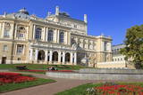 Opera House, Odessa, Crimea, Ukraine, Europe Photographic Print by Richard Cummins