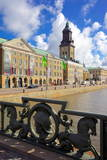 Museum and Church, Gothenburg, Sweden, Scandinavia, Europe Photographic Print by Frank Fell