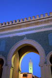 Bab Bou Jeloud, Fez, Morocco, North Africa, Africa Photographic Print by Neil Farrin