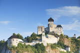 Trencin Castle, Trencin, Trencin Region, Slovakia, Europe Photographic Print by Ian Trower