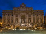 Trevi Fountain, Rome, Lazio, Italy, Europe Photographic Print by Ben Pipe