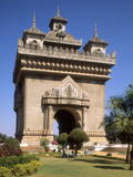 Patuxai (Arc De Triomphe), Vientiane, Laos, Indochina, Southeast Asia, Asia Photographic Print by Rolf Richardson