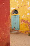 The Island of Goree (Ile De Goree), UNESCO World Heritage Site, Senegal, West Africa, Africa Fotografisk tryk af Bruno Morandi