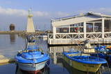 Port in Old Town, Nessebar, Bulgaria, Europe Stampa fotografica di Cummins, Richard