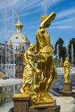 Peterhof (Petrodvorets), UNESCO World Heritage Site, St. Petersburg, Russia, Europe Photographic Print by Michael Runkel