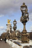 Pont Alexandre Bridge, Paris, Ile De France, France, Europe Photographic Print by Markus Lange