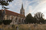 Evening Light Sets over All Saints Church, Marlow, Buckinghamshire, England, United Kingdom, Europe Photographic Print by Charlie Harding