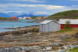 The Old Trading Centre of Kjerringoy, Nordland, Norway, Scandinavia, Europe Photographic Print by Douglas Pearson