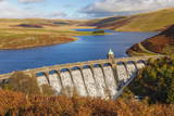 Craig Goch Dam, Elan Valley, Powys, Mid Wales, United Kingdom, Europe Photographic Print by Billy Stock