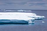 Huge Tabular Iceberg in Isabella Bay, Baffin Island, Nunavut, Canada, North America Photographic Print by Michael Nolan