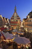 Christmas Fair at the Marketplace in Front of the Old Town Hall Photographic Print by Markus Lange
