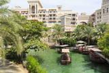 Dhows Cruise around the Madinat Jumeirah Hotel, Dubai, United Arab Emirates, Middle East Photographic Print by Amanda Hall