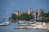 The Castle at Torre Del Benaco, Lake Garda, Italian Lakes, Veneto, Italy, Europe Photographic Print by James Emmerson
