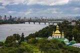 View over City, the Kiev-Pechersk Lavra and the Dnieper River, Kiev (Kyiv), Ukraine, Europe Photographic Print by Michael Runkel