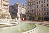 Place Des Jacobins in the City of Lyon, Rhone, Rhone-Alpes, France, Europe Photographic Print by Julian Elliott