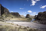 Quatro Canyones and the Apurimac River, in the Andes, Peru, South America Photographic Print by Peter Groenendijk